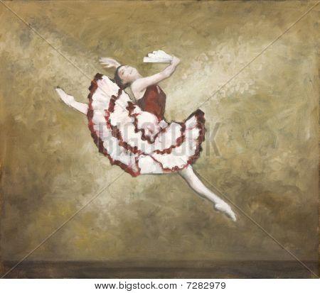 Oilpainting - Ballet Dancer