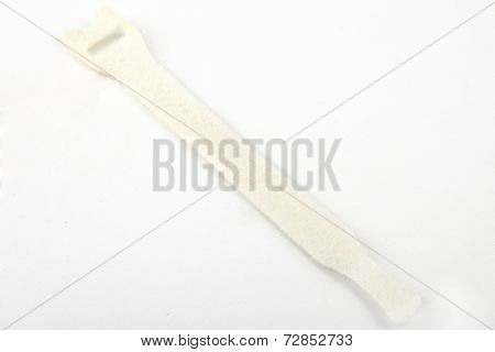 Velcro Cable Tie In White