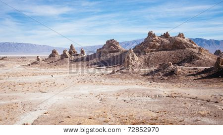 Lost in Trona pinnacles