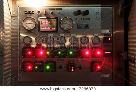Firetruck Panel