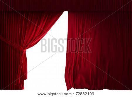 Velvet Red Courtain