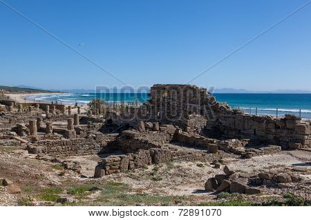Roman Ruins On Spanish Coast