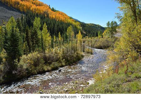 Lime Creek in the Fall