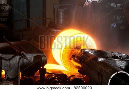 Hot rolling steel