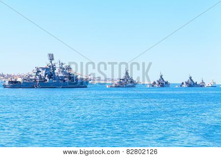 Ships of Russian Navy Black Sea Fleet