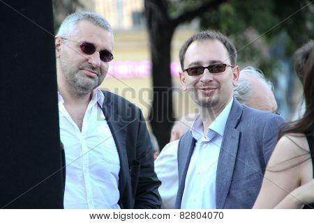 Lawyers Mark Feygin And Nikolay Polozov