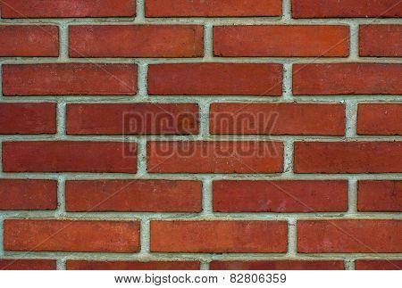Wall made of brick