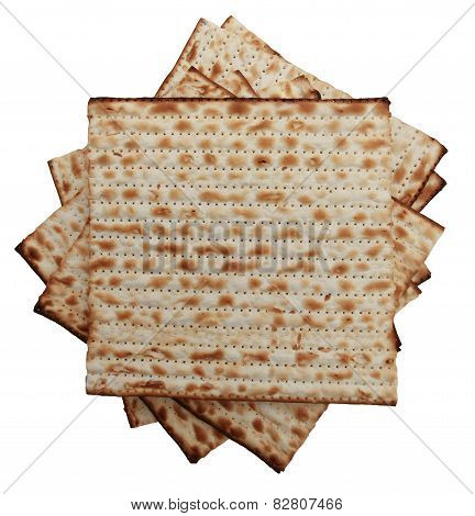 Traditional Jewish holiday food - Passover matzo