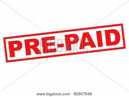 Pre-paid