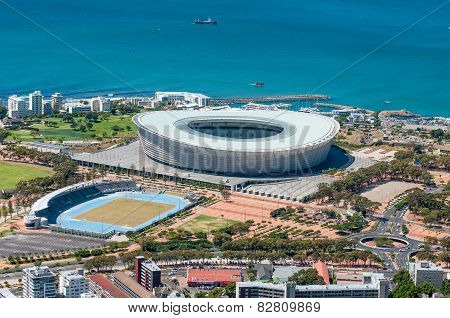 Cape Town Stadium At Green Point In Cape Town, South Africa
