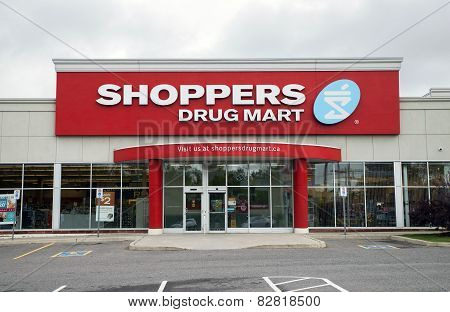 Shoppers Drug Mart Store Front