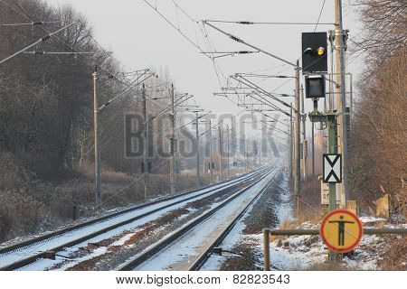 Winter Railtrack