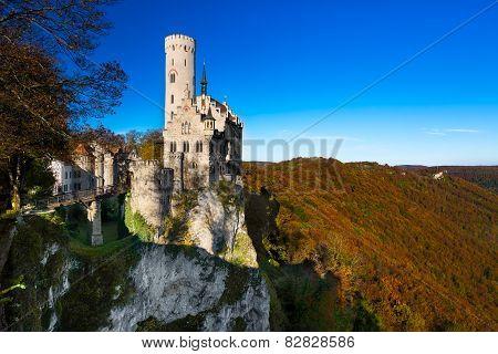 The castle of Lichtenstein, Germany
