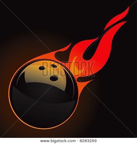 Bowling Fire Ball