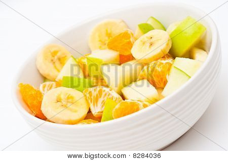 Freshly Made, Light Fruit Salad