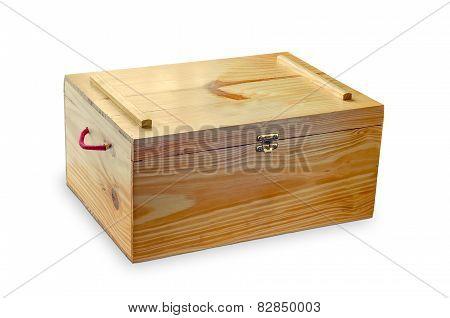 Wooden Coffer