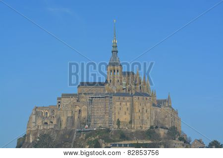 Mont St Michel, Abbey on the Rock