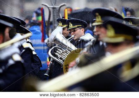 Playing The Saxhorn