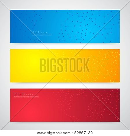 Vector Abstract Telecommunication Earth Map. World map connection illustration poster