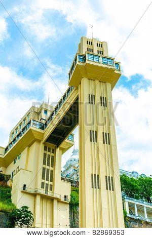 Lacerda Lift in Bahia, Brazil