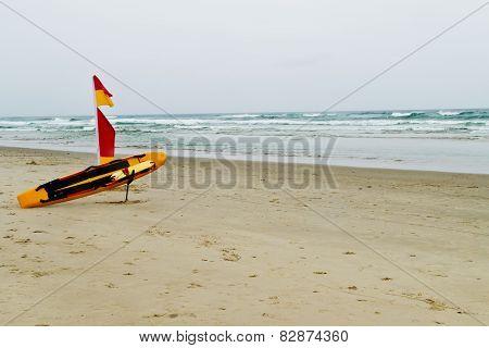 Australian Lifeguard Gear On The Beach
