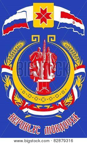 Russia Mordovia Coat Arms