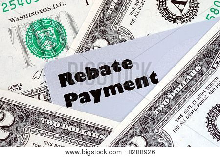 Obtain the rebate payment from a purchase