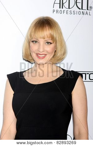 LOS ANGELES - FEB 14:  Wendi McLendon-Covey at the 2015 Make-up and Hair Stylists Guild Awards at a Paramount Theater on February 14, 2015 in Los Angeles, CA
