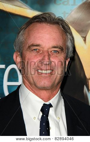 LOS ANGELES - FEB 14:  Robert F. Kennedy, Jr. at the 2015 Writers Guild Awards at a Century Plaza Hotel on February 14, 2015 in Century City, CA