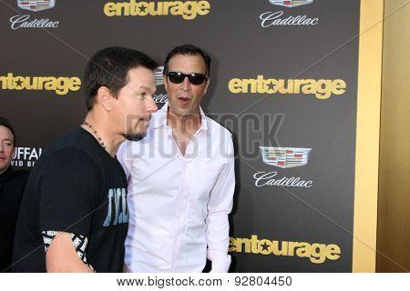 LOS ANGELES - MAY 27:  Mark Wahlberg, Johnny