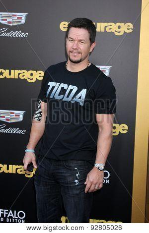 LOS ANGELES - MAY 27:  Mark Wahlberg at the