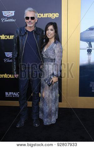 LOS ANGELES - MAY 27:  Billy Bob Thornton, Connie Angland at the