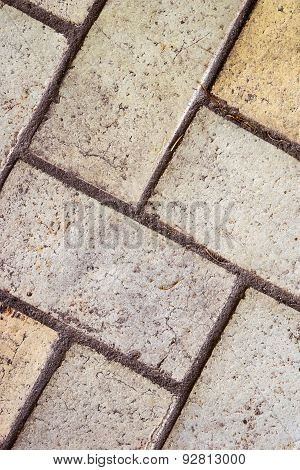 Background sidewalk tiles