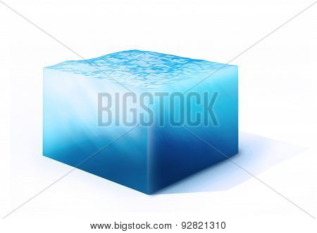 Cross Section Of Water Cube