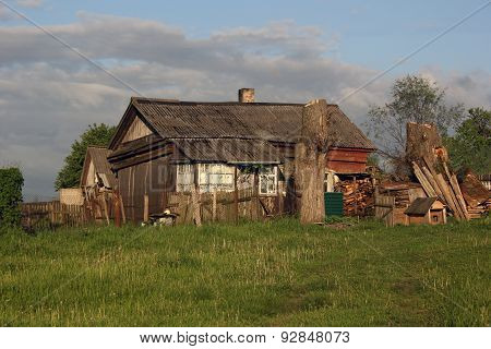 Wretched Rickety Hovel In The Countryside