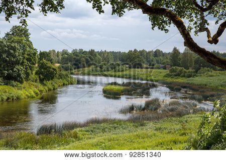 The river of Venta