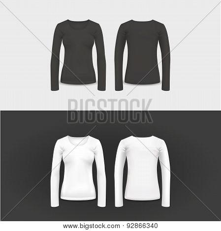 Vector t-shirt, polo shirt and sweatshirt design template.