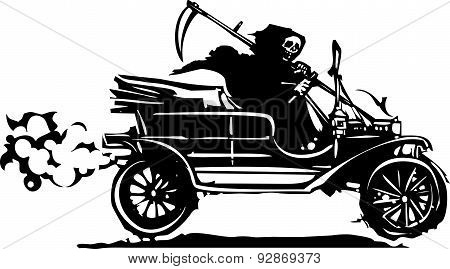 Death In A Vintage Car