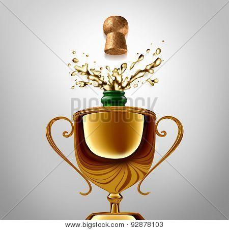 Winner Celebration