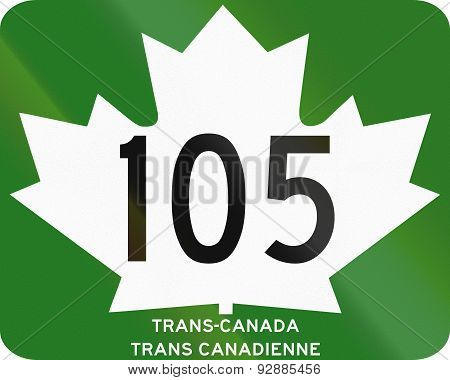 Trans-canada Highway 105