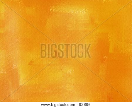 Abstract Close Up Colourwash Background - Orange