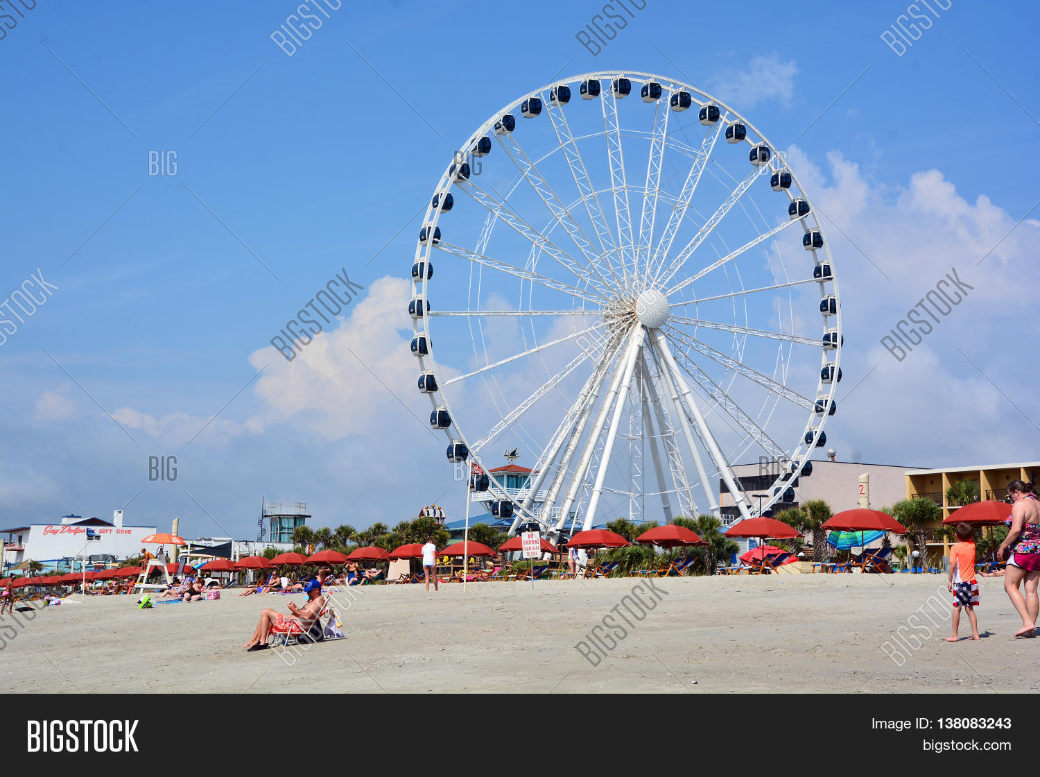 Myrtle Beach South Image Photo Free Trial Bigstock