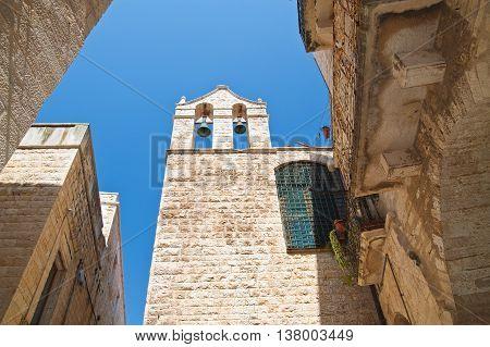 Church of Carmine. Giovinazzo. Puglia. Southern Italy.