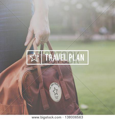 Travel Trip Tour Graphic Concept