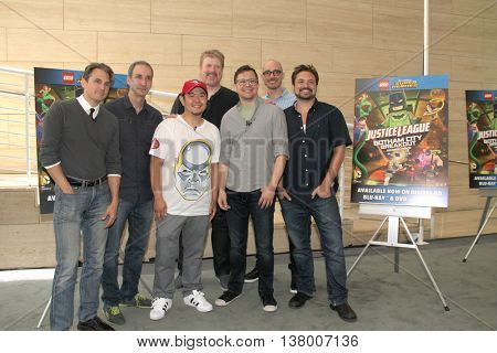 Jason Spisak, James Krieg, Eric Bauza, John DiMaggio, Matt Peters, Brandon Vietti and Will Friedle,