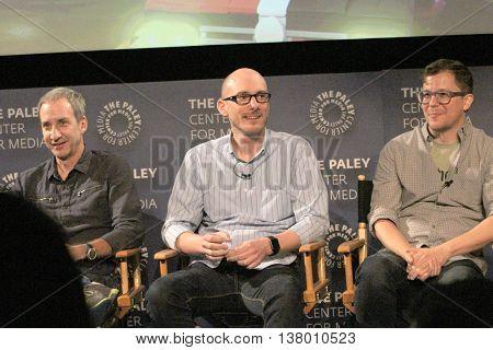 Jim Krieg, Brandon Vetti and Matt Peters speak at the at the