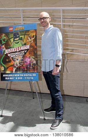 Brandon Vietti arrives at the premiere of