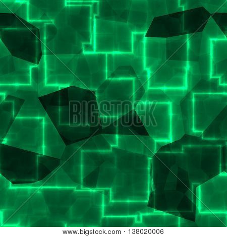 An abstract emerald green background or pattern