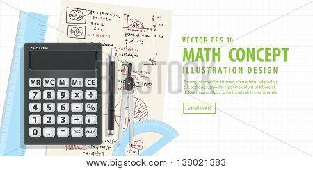 Banner Computational Mathematics With Calculators And Accessories For Mathematics On Mathematical Fo