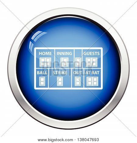 Baseball Scoreboard Icon